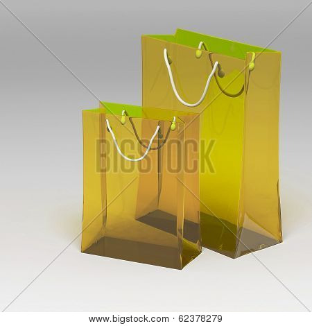 3D Shopping Bag