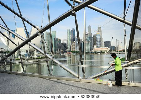 Worker In Singapore