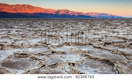 Salt Pans At Sunrise