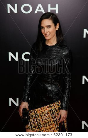 NEW YORK-MAR 26: Actress Jennifer Connolly attends the premiere of
