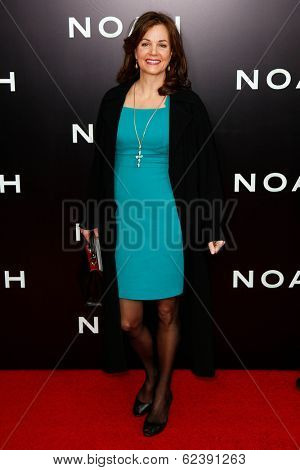 NEW YORK-MAR 26: Actress Margaret Colin attends the premiere of