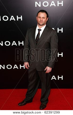 NEW YORK-MAR 26: Producer Scott Franklin attends the premiere of