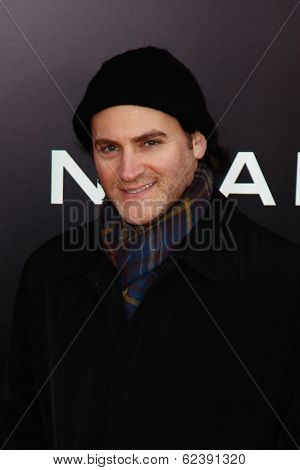 NEW YORK-MAR 26: Actor Michael Stuhlbarg attends the premiere of