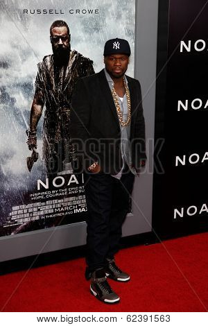 NEW YORK-MAR 26: Rapper Curtis 'Fifty Cent' Jackson attends the premiere of