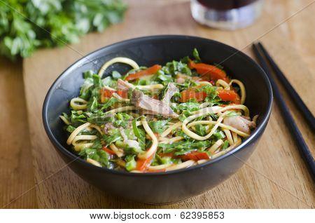 Pork With Noodles
