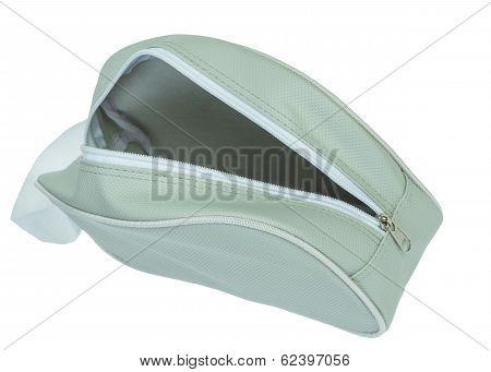 Cosmetics Or Sport Bag,open Zip