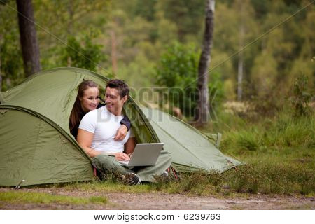 Camping With Computer