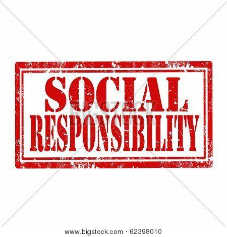 Social Responsibility-stamp