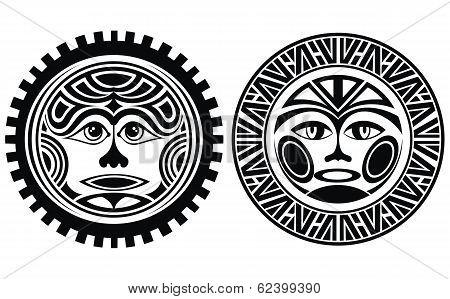 Tattoo styled masks