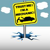 Trust me I am a mechanic