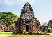 picture of northeast  - Phimai castle is history architecture at Nakornrajsima province in the Northeast of Thailand - JPG