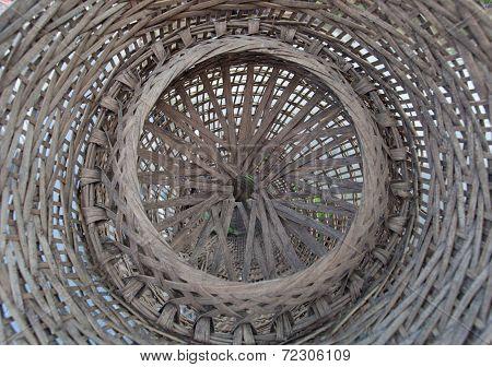 Bamboo fish trap