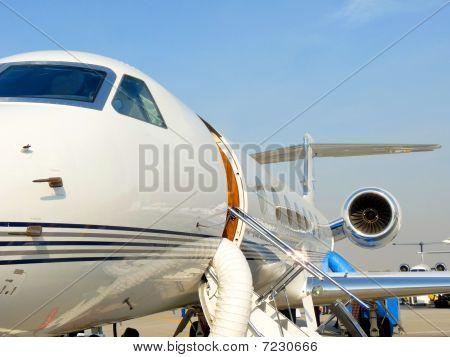 Chartered Plane