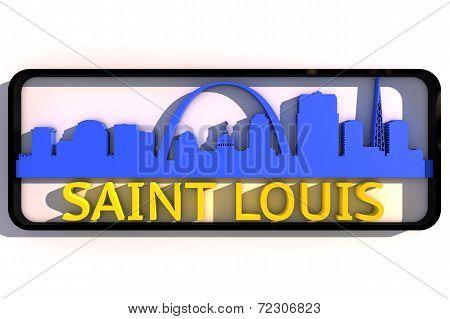 Saint Louis USA logo