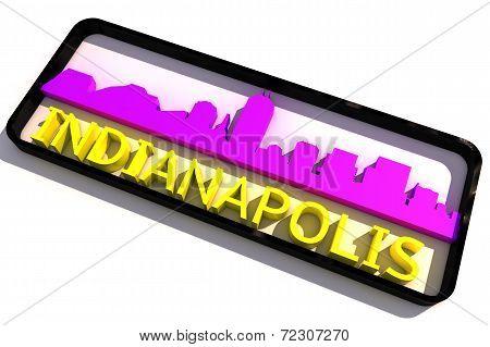Indianapolis USA logo