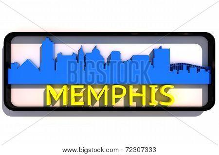 Memphis USA logo