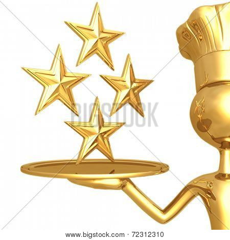 4 Star Restaurant Rating