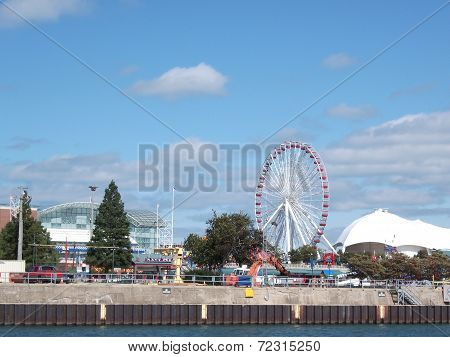 Gorgeous View of Navy Pier