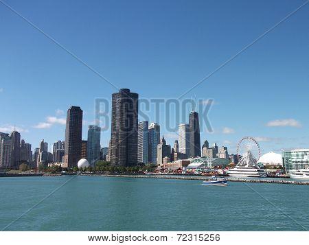 Gorgeous Chicago Skyline