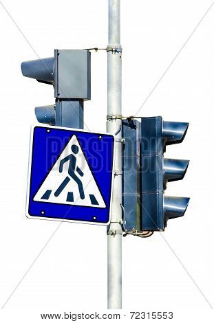 sign pedestrian