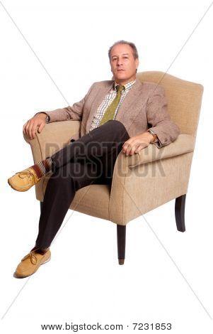 Man On A Sofa