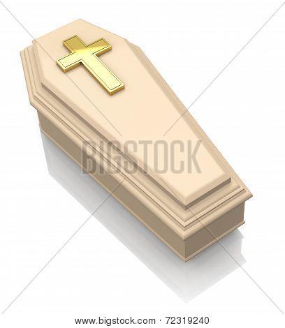 the casket