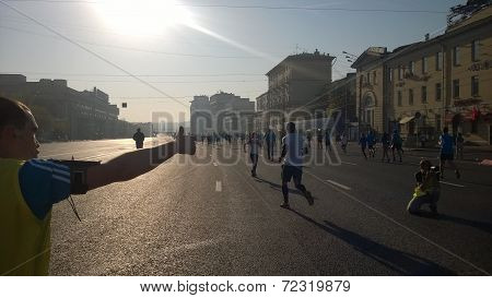 Running city