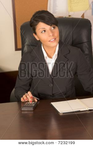 Executive Assistant Woman In Business Suit