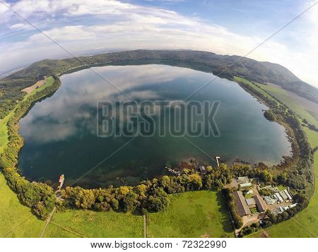 Aerial View On Laacher See