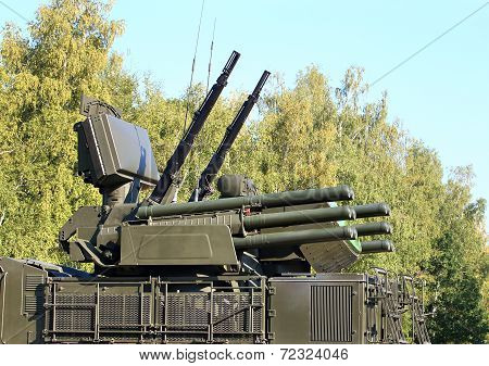 Weapons Of Anti-aircraft Defense System