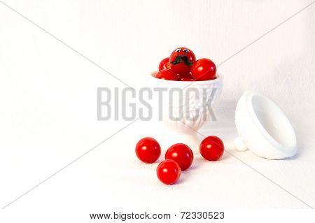 Bowel Of Cherry Tomatos