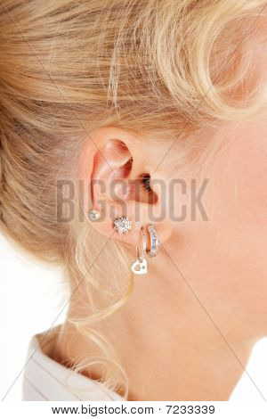 Young Woman's Ear