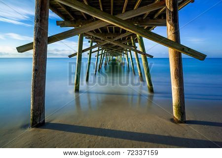 Beneath The Fishing Pier