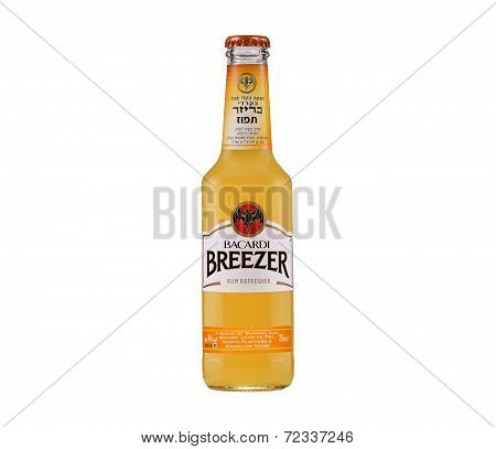 Bacardi Breezer Orange rum cooler