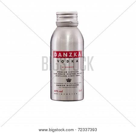 Miniature Bottle Of Danzka Vodka