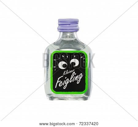 Miniature Bottle Of Kleiner Feigling Das Original Liqueur