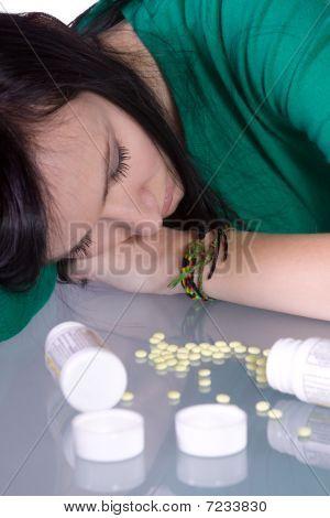 Problema de adolescente drogas - Overdose