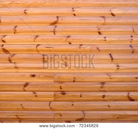 Detail Of Wooden House Walls