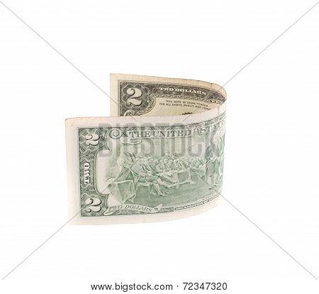 Two dollar bill.