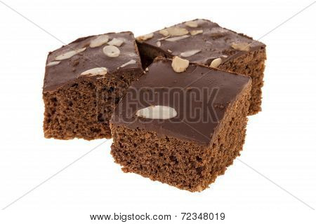 Three Delicious Brownies
