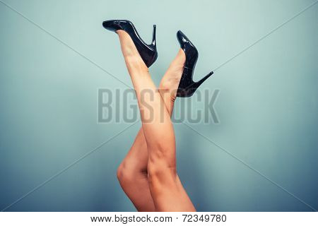 Sexy Female Legs In High Heels