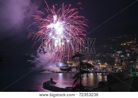 Fireworks Recco Italy