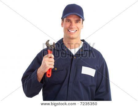 Trabalhador de encanador