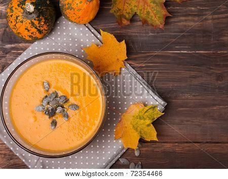 Autumn Pumpkin Soup