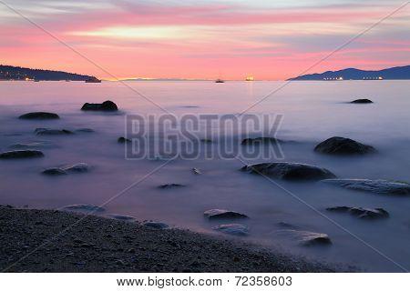 Kitsilano Beach Sunset