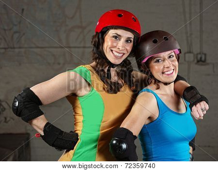 Happy Roller Derby Friends
