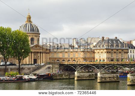 Paris On A Cloudy Summer Day