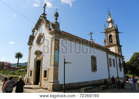 Chapel Of Saint Michael In Ponte De Lima