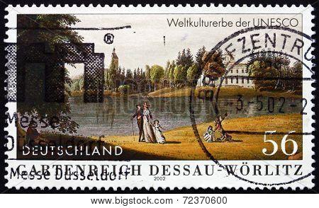 Postage Stamp Germany 2002 Garden Kingdom Of Dessau-worlitz