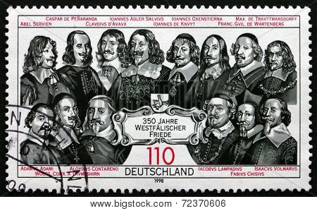 Postage Stamp Germany 1998 Peace Of Westphalia